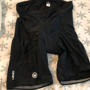 Canari Biking Shorts,Size XXL,Black(padded)